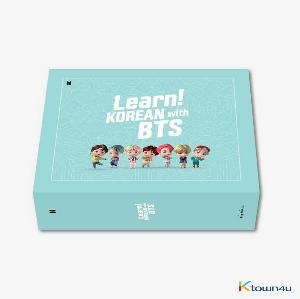 BTS - Learn! KOREAN with BTS Book Package (only DHL is available - Overseas delivery) *Study note not included