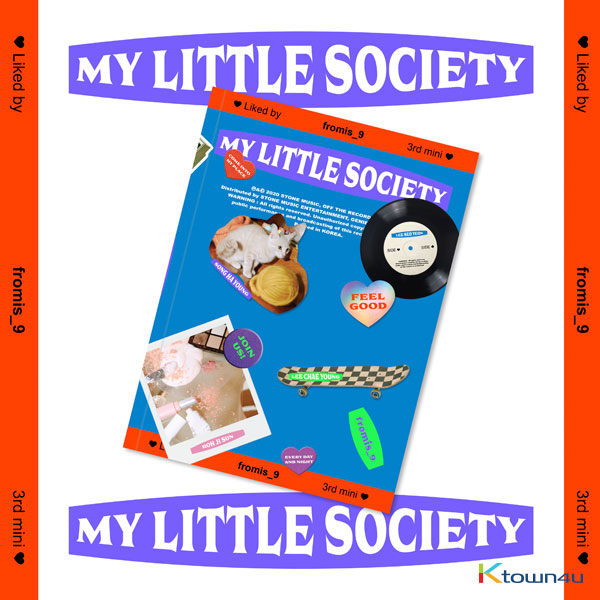 fromis_9 - mini Aibum Vol.3 [My Little Society] (My society ver.) (second press)