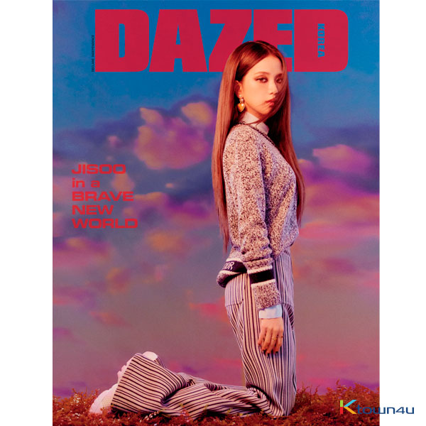 [韓国雑誌] Dazed & Confused Korea 2020 Special Edition B Type Vol.155 (Front Cover : Jisoo / Back Cover : Random)