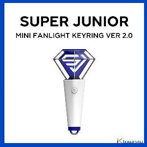 SUPER JUNIOR - MINI FANLIGHT KEYRING (VER 2.0)