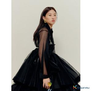 [Hanbok] Black short ferric