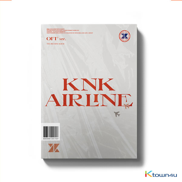 KNK - Mini Album Vol.3 [KNK AIRLINE] (OFF Ver.) (second press)