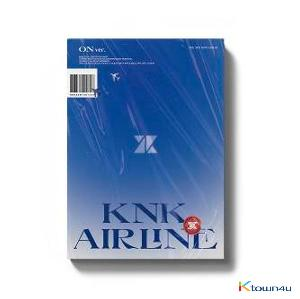 KNK - Mini Album Vol.3 [KNK AIRLINE] (ON Ver.) (second press)