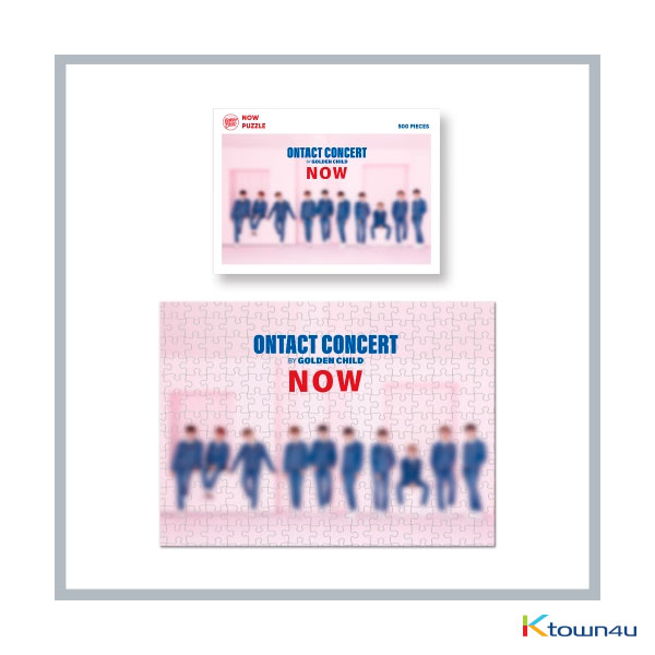 Golden Child - ONTACT CONCERT NOW OFFICIAL GOODS_NOW PUZZLE