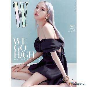[韓国雑誌] W KOREA 2020.10 B Type (Cover : BLACKPINK ROSE / Content : TAEYEON 10p)