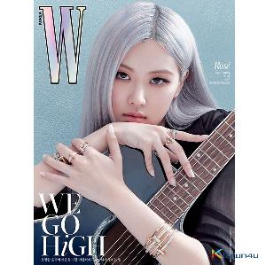 [韓国雑誌] W KOREA 2020.10 C Type (Cover : BLACKPINK ROSE / Content : TAEYEON 10p)