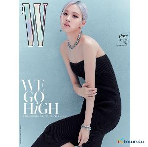 [韓国雑誌] W KOREA 2020.10 D Type (Cover : BLACKPINK ROSE / Content : TAEYEON 10p)