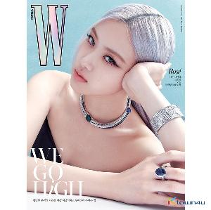 [韓国雑誌] W KOREA 2020.10 A Type (Cover : BLACKPINK ROSE / Content : TAEYEON 10p)