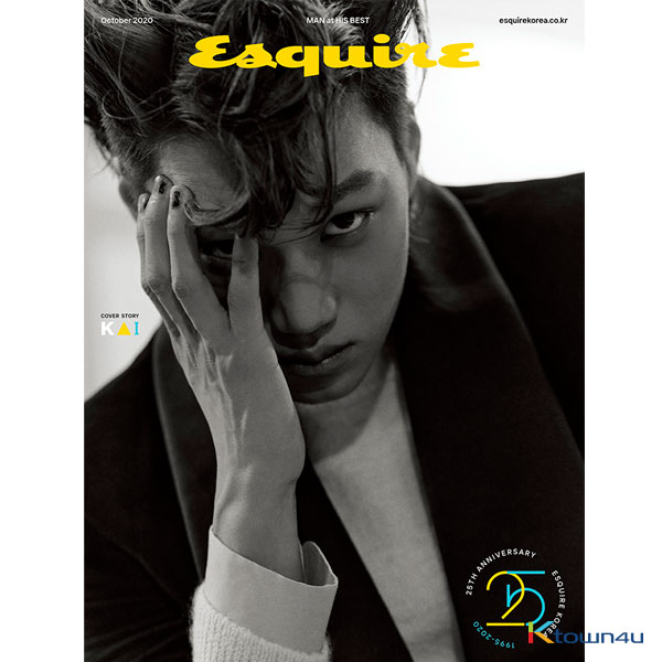 ESQUIRE 2020.10 A Type (Cover : KAI / Content : Ha Sung Woon 8p)