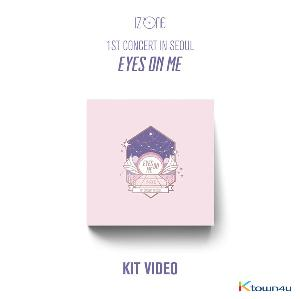 IZ*ONE - 1ST CONCERT IN SEOUL [EYES ON ME] (KIT VIDEO) *Due to the built-in battery of the Khino album, only 1 item could be ordered and shipped at a time.