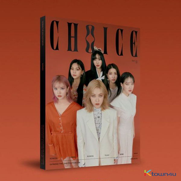 [PHOTOBOOK] GFRIEND - THE 2ND PHOTOBOOK [CHOICE] (*Order can be canceled cause of early out of stock)
