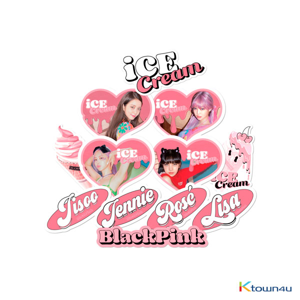 [ICECREAM] BLACKPINK - ICECREAM STICKER