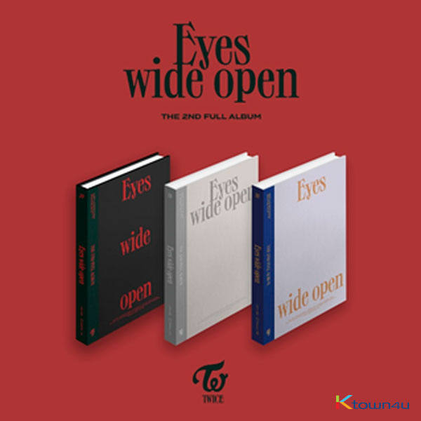 TWICE - Album Vol.2 [Eyes wide open] (Random Ver.)