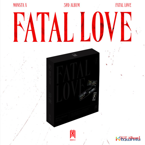 MONSTA X - Album Vol.3 [FATAL LOVE] (KiT ALBUM) *Due to the built-in battery of the Khino album, only 1 item could be ordered and shipped at a time.