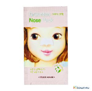 [ETUDE HOUSE] Green Tea Nose Patch (19AD)