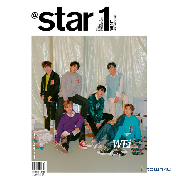 [WEi JAPAN SUPPORT][韓国雑誌] At star1 2020.11 (WEi)