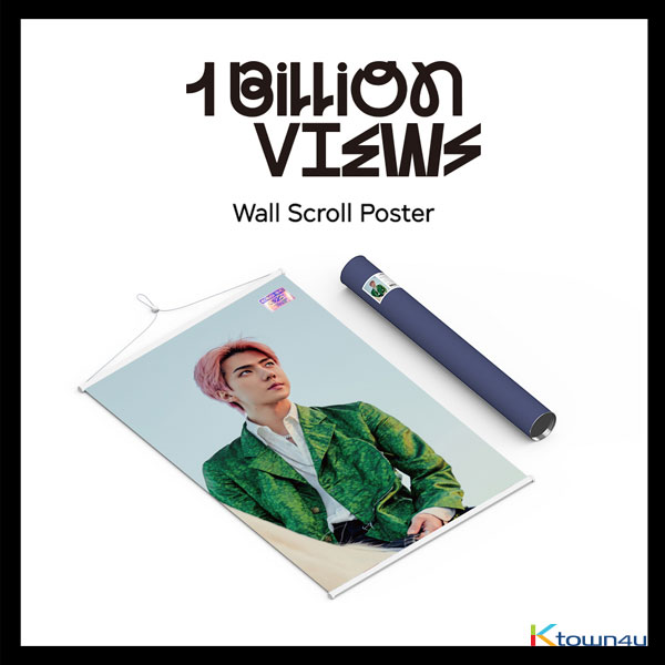 EXO-SC(Sehun&Chanyeol) - Wall Scroll Poster (Sehun B ver)