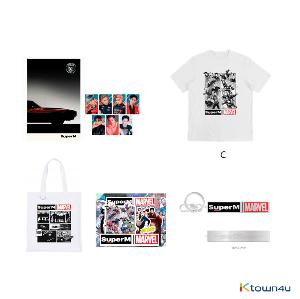 SuperM - SuperM X MARVEL SPECIAL PACKAGE 1 (T-SHIRT C / SIZE L)