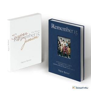 SUPER JUNIOR - SUPER JUNIOR 15th ANNIVERSARY PHOTO BOOK [REMEMBER 15]