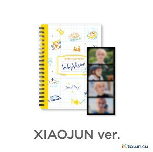[WayVision] WayV_XIAOJUN_Commentary book+film SET