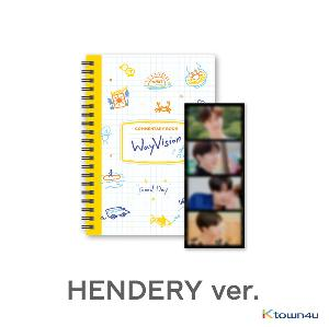 [WayVision] WayV_HENDERY_Commentary book+film SET