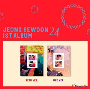 Jeong Se Woon - Album Vol.1 [<24> Part.2] (Random Ver.)