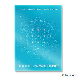 TREASURE - 1st ALBUM [THE FIRST STEP : TREASURE EFFECT] (BLUE VER.)
