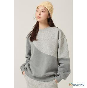 [Between A and B] LIMELIGHT SWEATSHIRT_GRAY