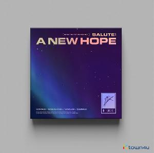 AB6IX - 3RD EP REPACKAGE Album [SALUTE : A NEW HOPE] (HOPE Ver.)