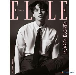 ELLE 2021.02 D Type (Cover : Song Kang / Content : Kim Seon Ho 8p)