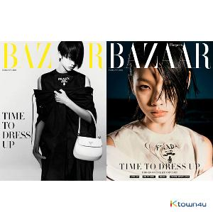 HARPER`S BAZAAR 2021.02 (Content : Oh my Girl 12p) *Cover Random 1p out of 2p