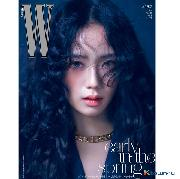 W KOREA 2021.02 B Type (Cover : BLACKPINK JISOO)