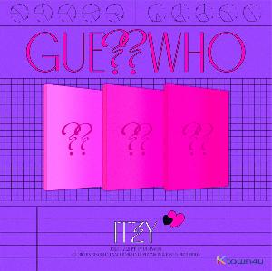 ITZY - アルバム[GUESS WHO] (Random Ver.)