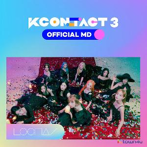 LOONA - チケット& AR カードセット[KCON:TACT3 公式MD]