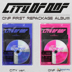 [Ktown4u イベント] [2CD セット] ONF - リパッケージアルバム [CITY OF ONF] (CITY Ver. + ONF Ver.)