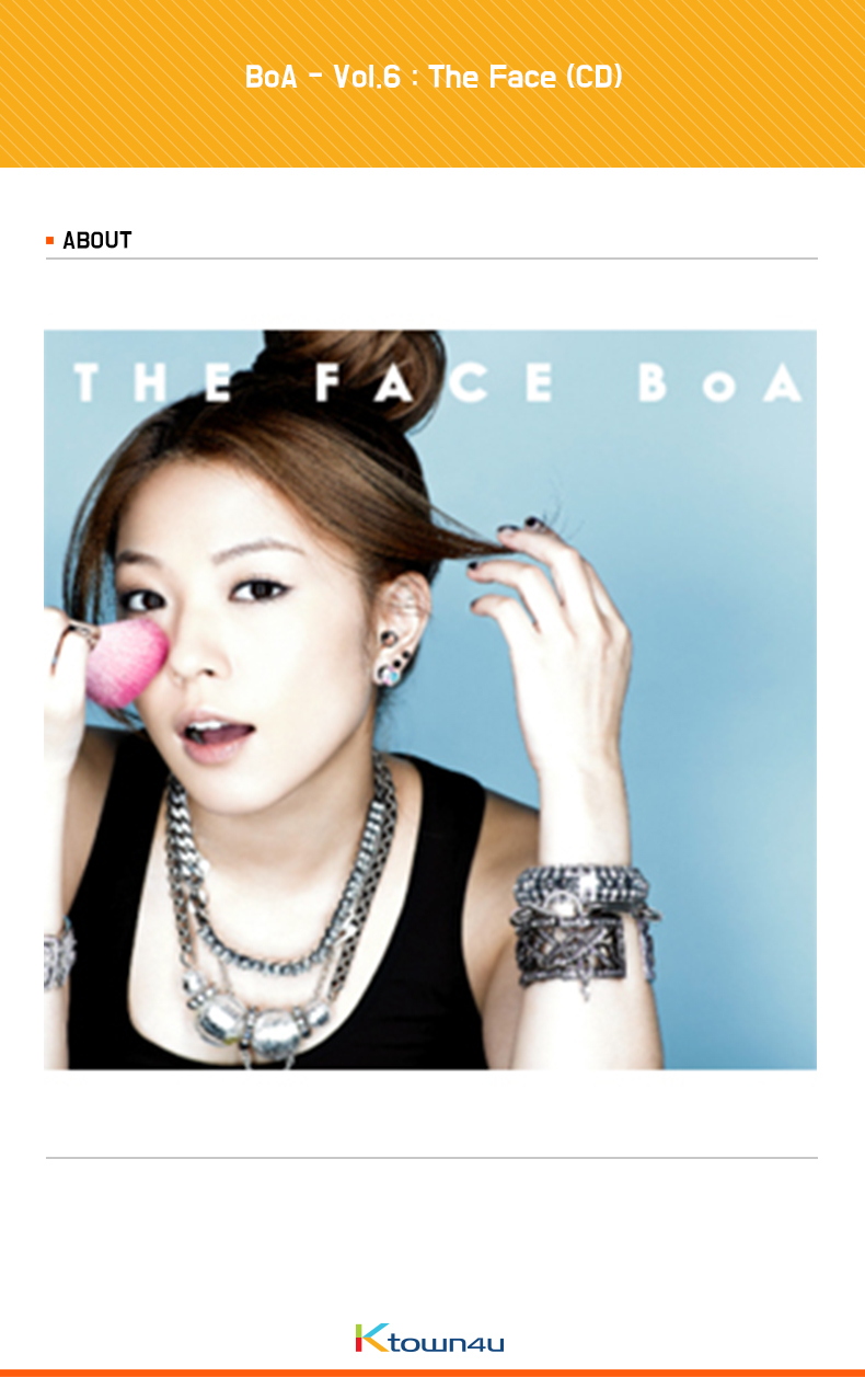 BoA - Vol.6 : The Face (CD)
