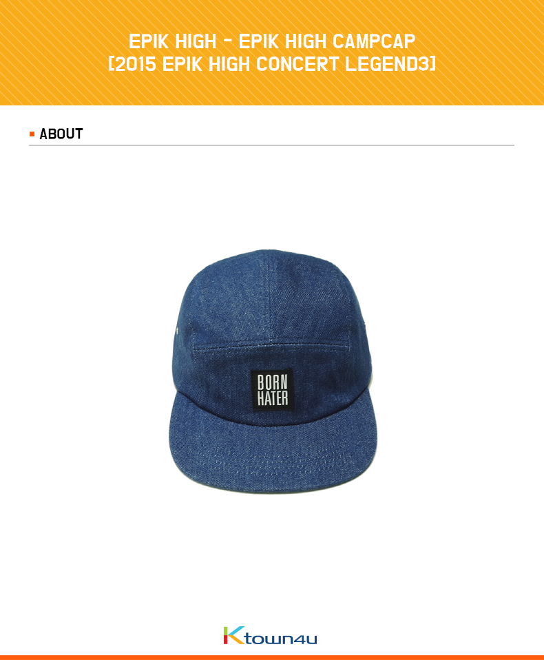 EPIK HIGH - EPIK HIGH CAMPCAP [2015 EPIK HIGH CONCERT LEGEND3]