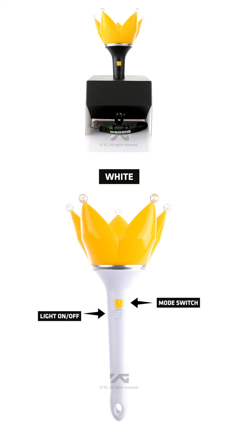 Big Bang - Fan Light stick (Ver.4) (White)