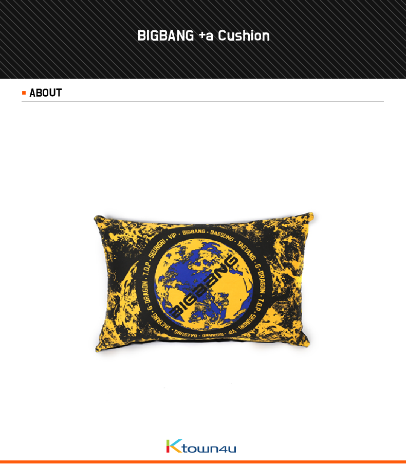 [YG 公式商品] BIGBANG +a Cushion