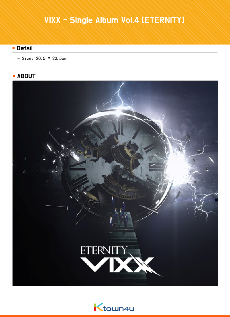 VIXX - Single Album Vol.4 [ETERNITY]