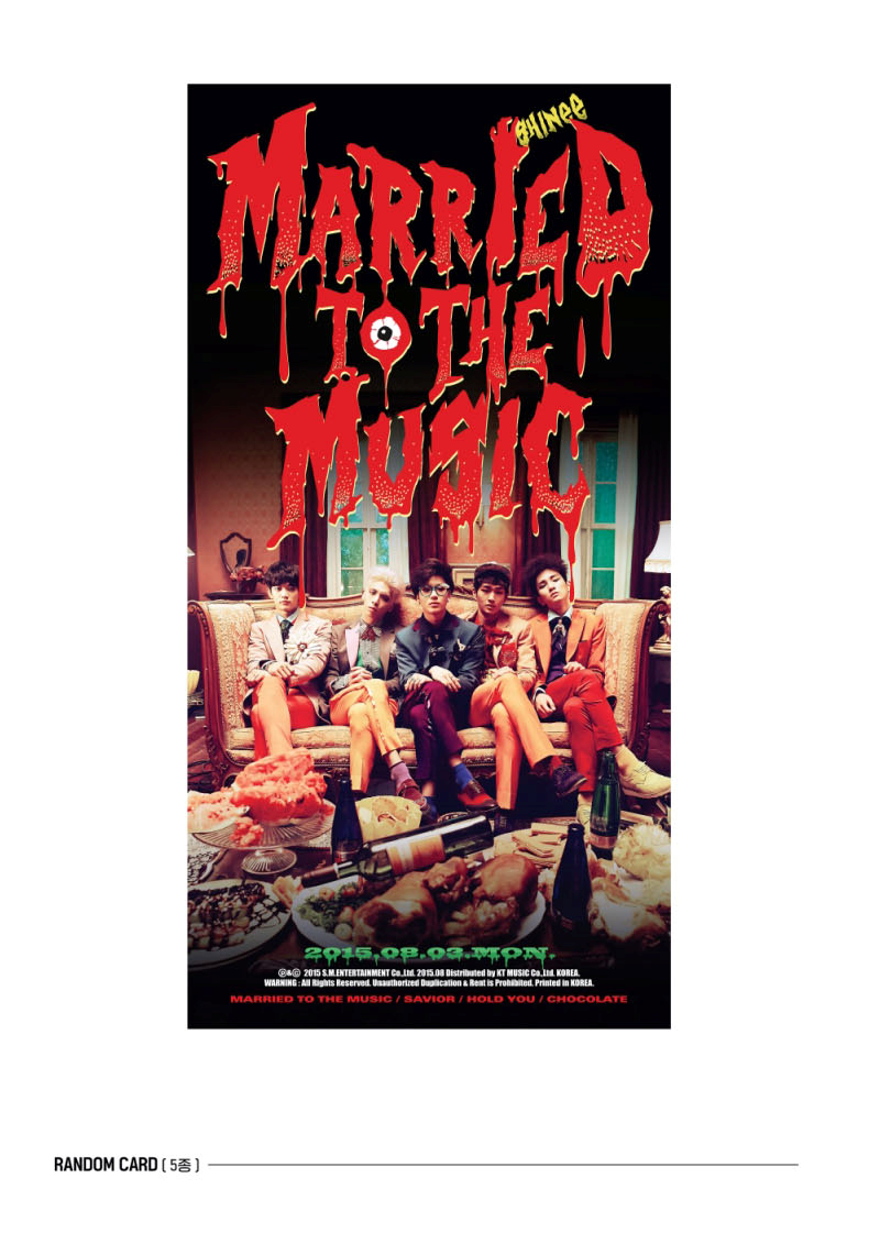 [CD]SHINee(シャイニー) - 正規アルバム4集リパッケージ[Odd][Married To The Music]