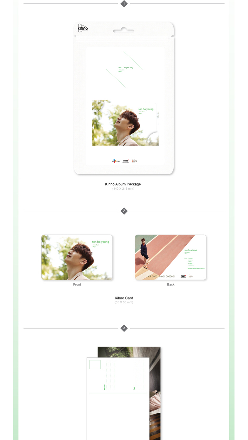 GOD : Son Ho Young - Mini Album [May , I] (Kihno Card Edition) *Due to the built-in battery of the Khino album, only 1 item could be ordered and shipped at a time.
