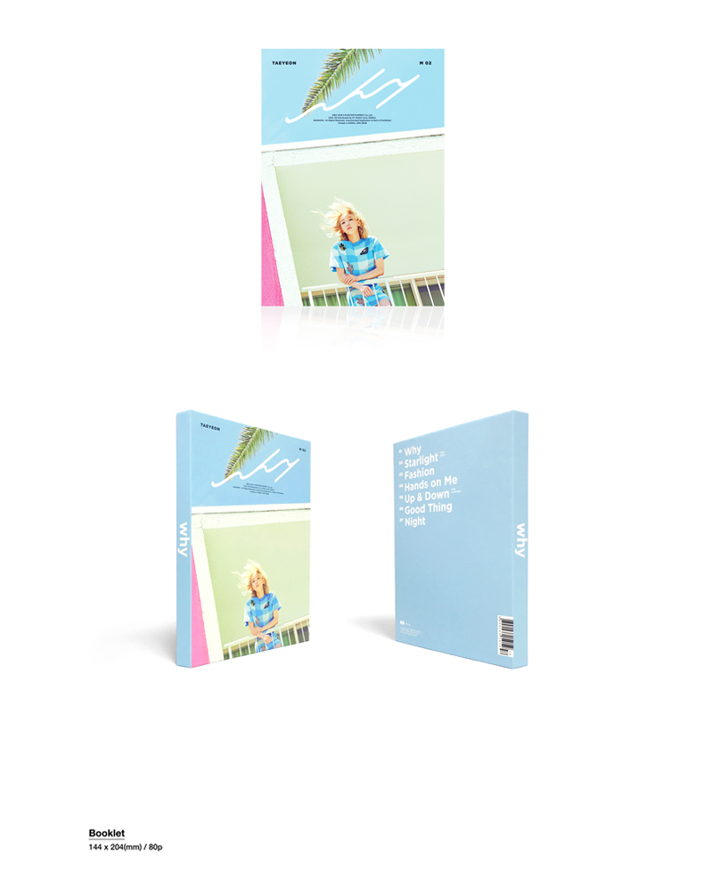 [CD]少女時代 : TAEYEON - Mini Album Vol2. [Why] (韓国盤)