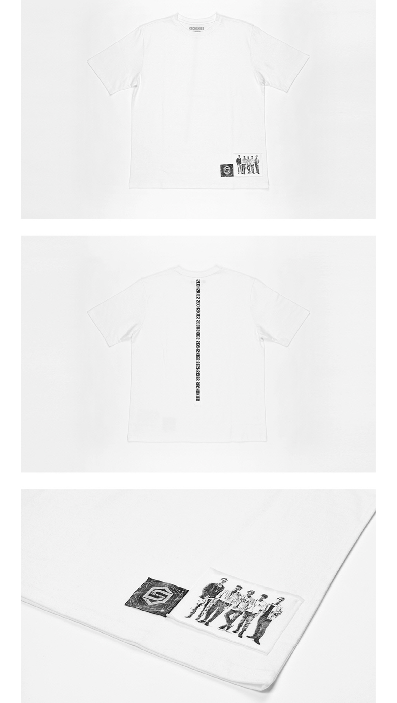 SECHSKIES - WHITE T-SHIRTS [2016 SECHSKIES CONCERT YELLOW NOTE]