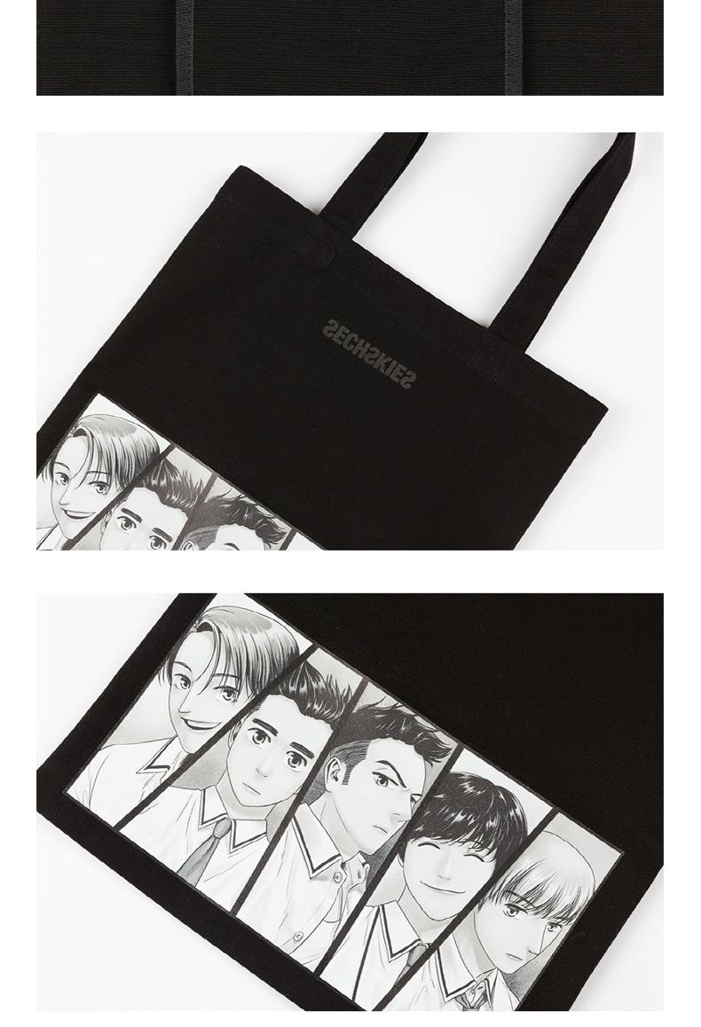 SECHSKIES - ECOBAG BLACK [2016 SECHSKIES CONCERT YELLOW NOTE]
