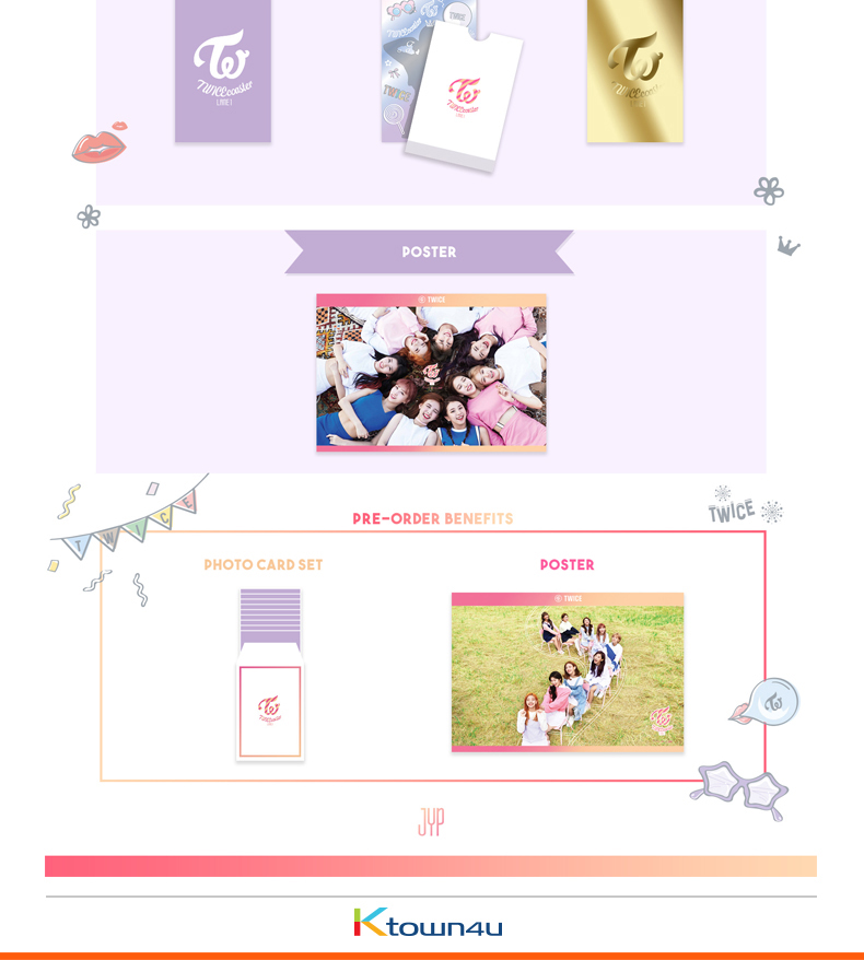 TWICE - Mini Album Vol.3 [TWICEcoaster : LANE 1] (Random ver.)
