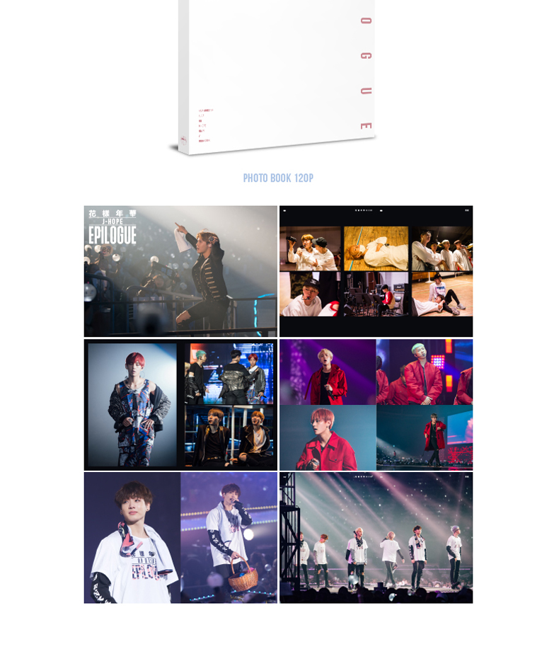 BTS (防弾少年団) - 2016 BTS LIVE 花樣年華 ON STAGE : EPILOGUE CONCERT DVD