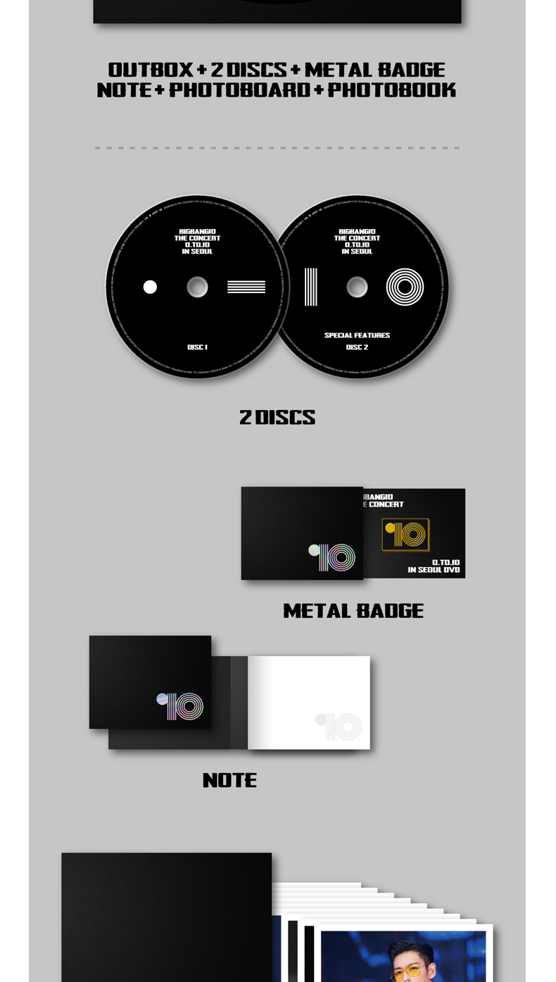 [DVD] BIGBANG (ビッグバン) - BIGBANG10 THE CONCERT 0.TO.10 IN SEOUL DVD