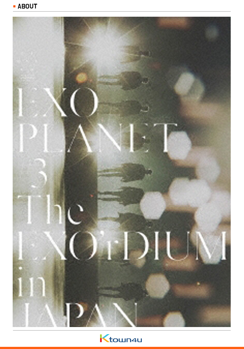 [DVD] EXO - EXO PLANET #3 -The EXO'rDIUM IN JAPAN (First Limited Edition)