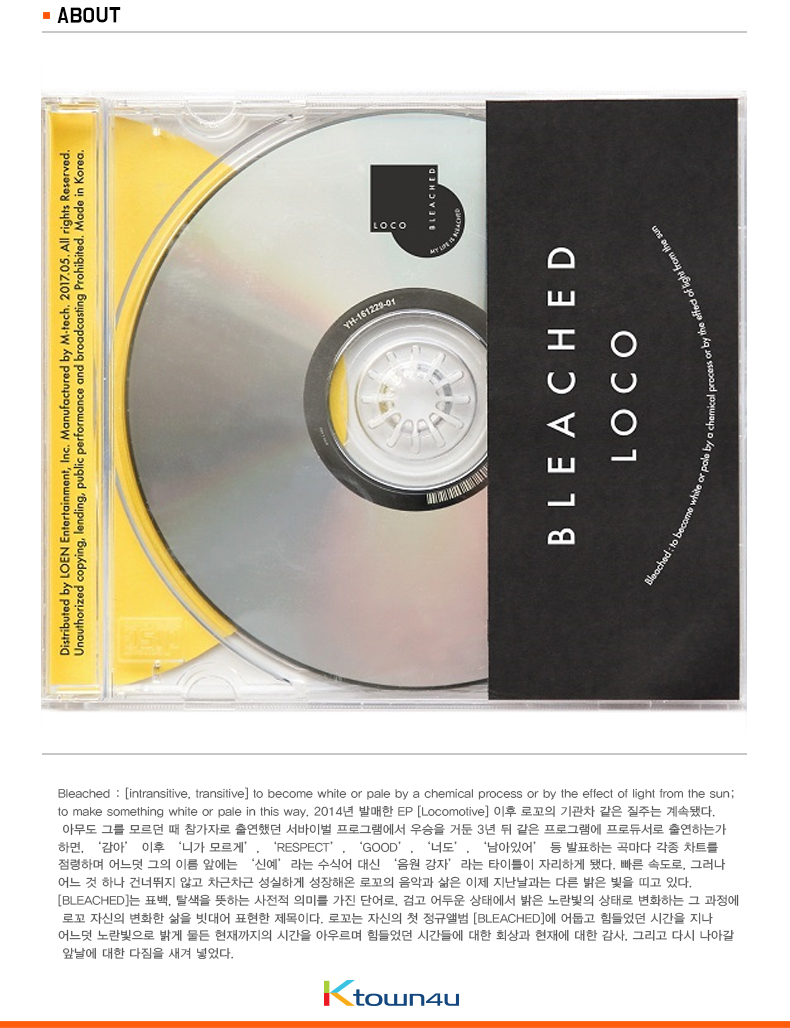 LOCO - Album Vol.1 [BLEACHED]